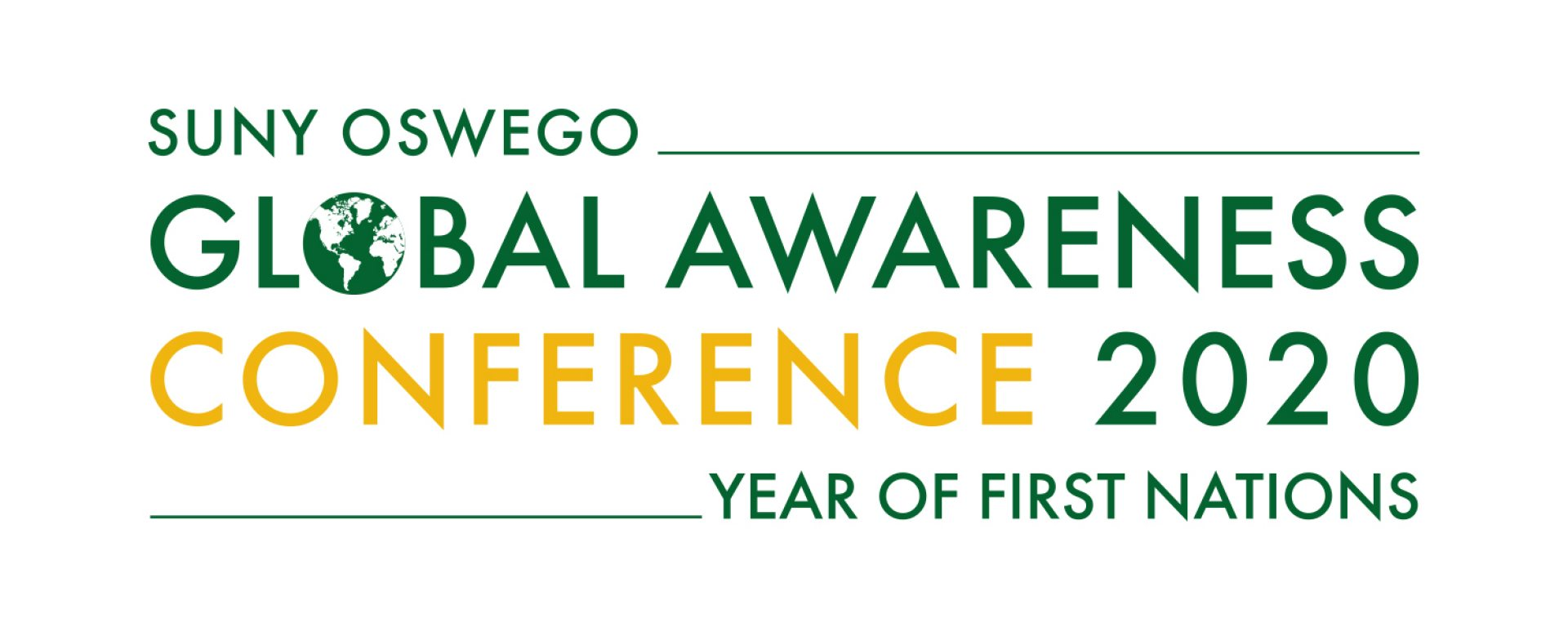 2020 Global Awareness Conference logo