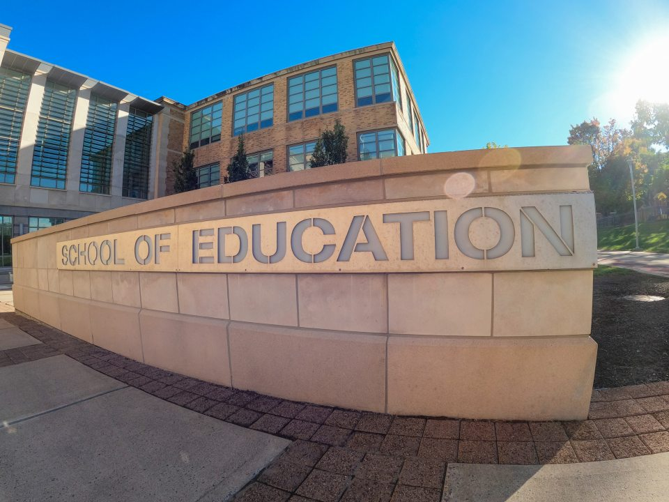 School of Education Sign